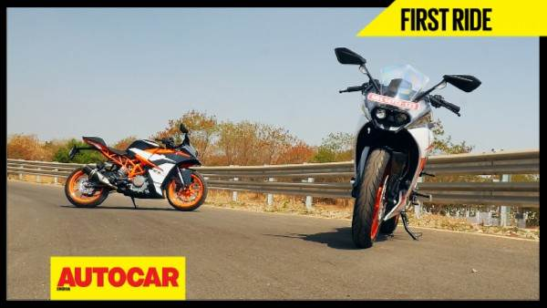 2017 KTM RC 200, RC 390 video review