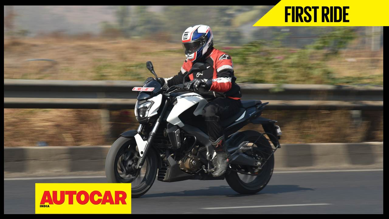 2017 Bajaj Dominar 400 video review