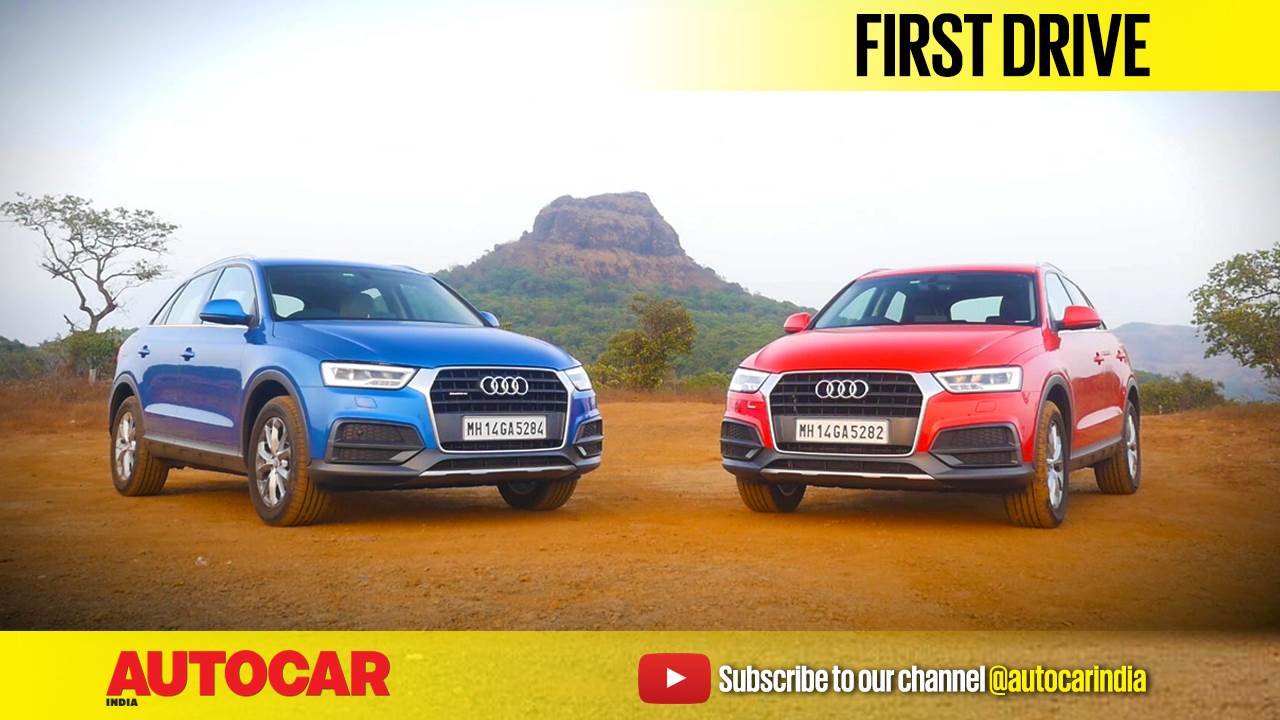 2017 Audi Q3 facelift video review