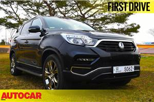 2017 SsangYong G4 Rexton video review