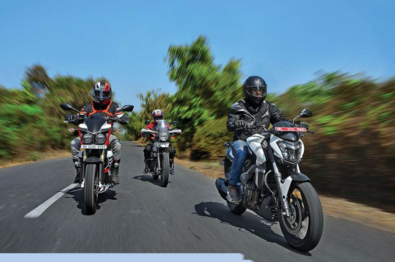 Bajaj Dominar 400 vs Mojo vs Himalayan comparison