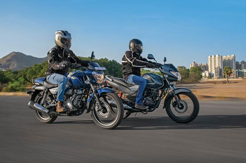 Bajaj V15 vs Hero Achiever 150 comparison