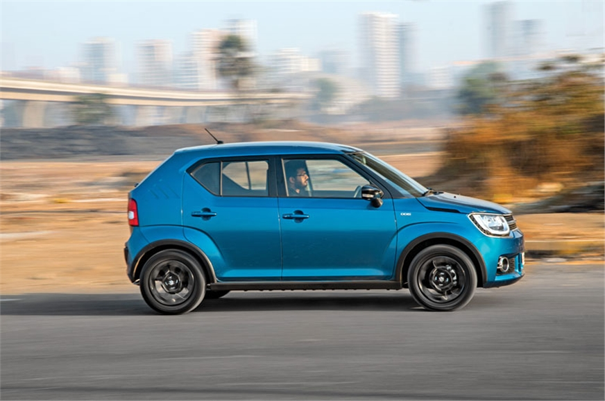 The Ignis is quick but you have to wait for the turbo to ...
