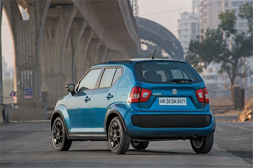 The Ignis is a clear break from typical Suzuki design.