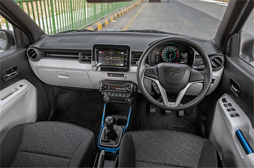 Ignis dash looks contemporary and body-coloured panels he...