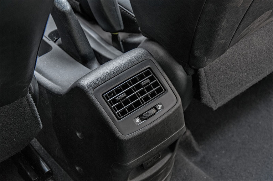 Grand i10 is the only car here with a rear air con vent.