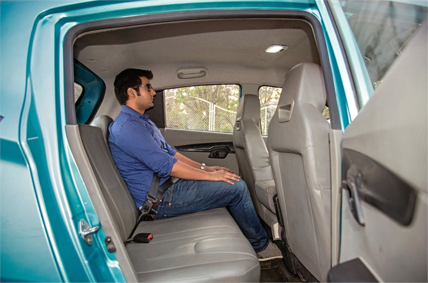 KUV is roomiest. Windows don't extend all the way back.