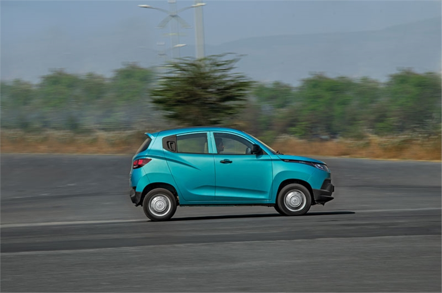 KUV's engine offers good drivability in town but it doesn...