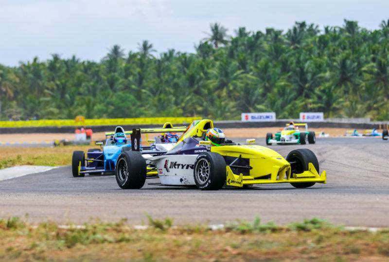Vishnu Prasad wins both EuroJK17 races on day 1