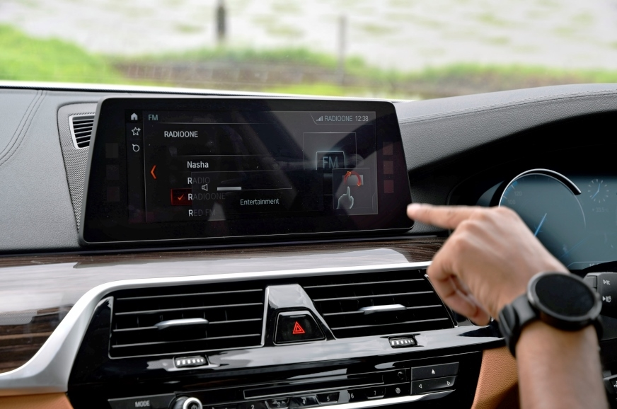 Gesture control feature from 7-series returns, but again,...