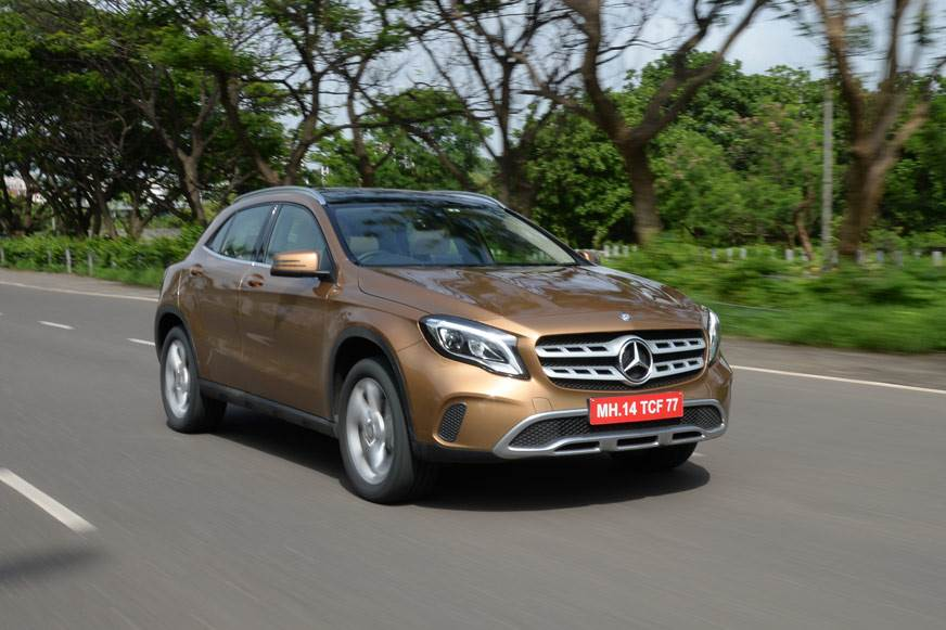 2017 Mercedes GLA facelift review, test drive