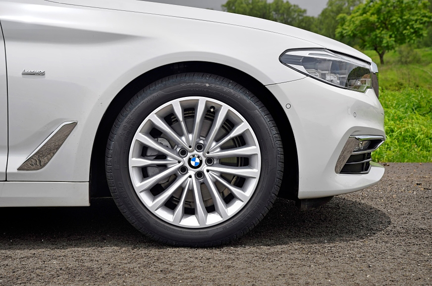 As before, the 5-series uses 18-inch wheels, but the larg...