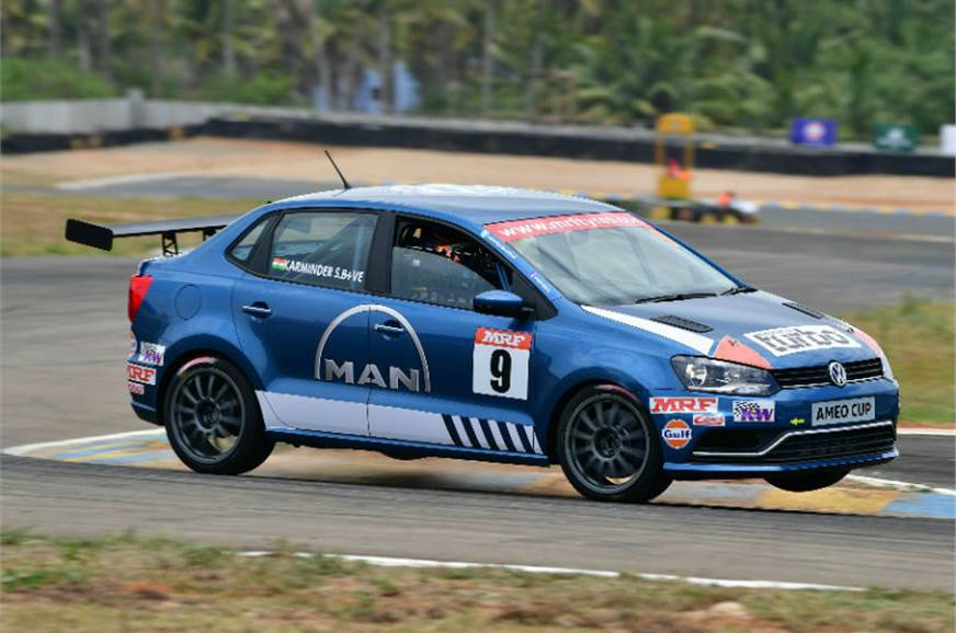 Karminder Singh to start Ameo Cup Race 1 on pole.