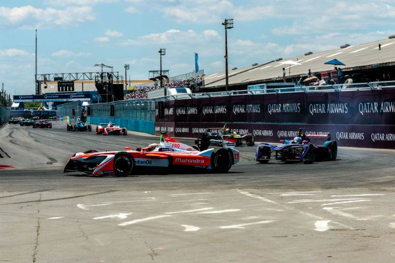 Double podium for Mahindra Racing in New York City ePrix