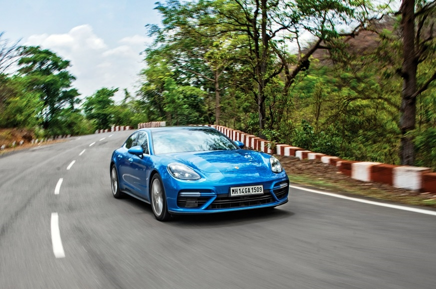 Despite its two-tonne weight, the 2017 Porsche Panamera T...