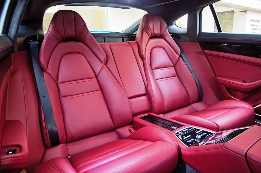 Seats hold you well but you can't lounge about at the rear.
