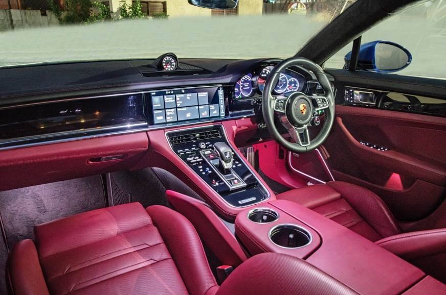 Cockpit smacks of modernity and touch surfaces dominate t...