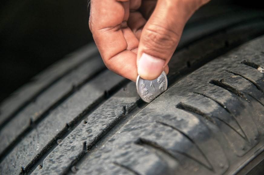 Make sure your tyres are in good shape.