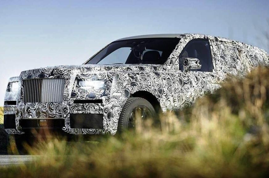 The Rolls-Royce Cullinun teased
