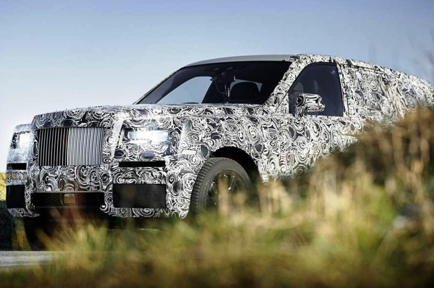 The Rolls-Royce Cullinun teased