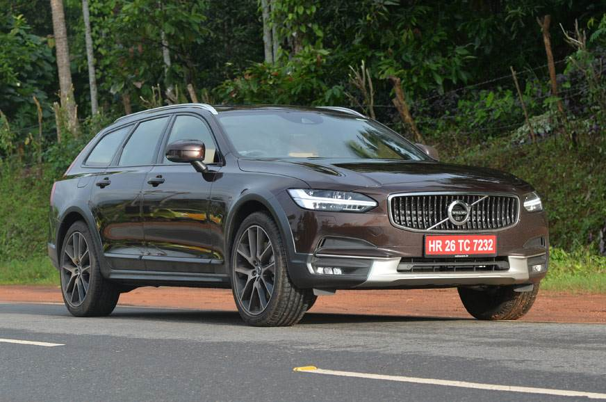 2017 Volvo V90 Cross Country India review, test drive