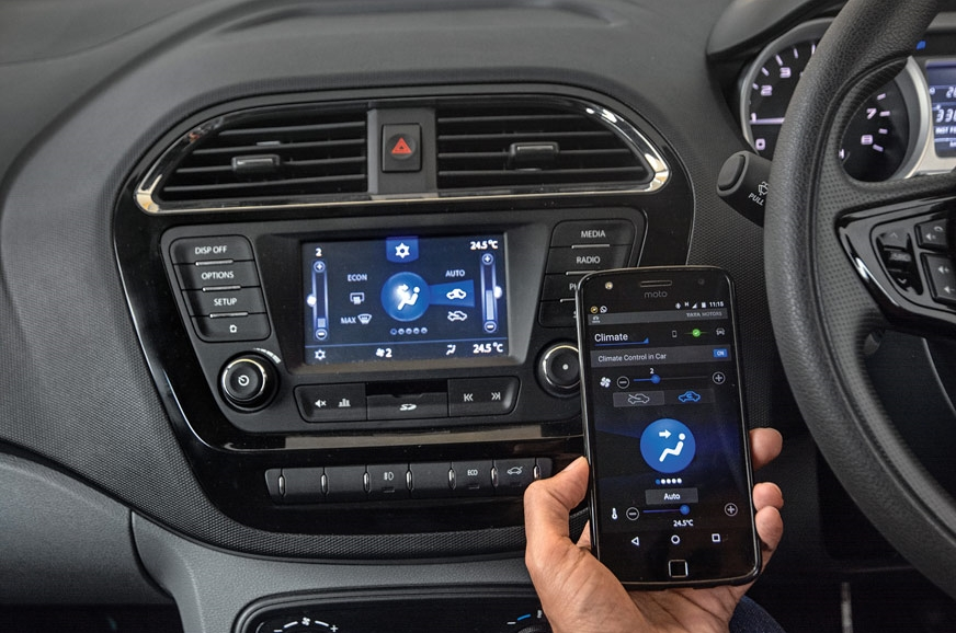 App makes your phone a controller for infotainment and HV...