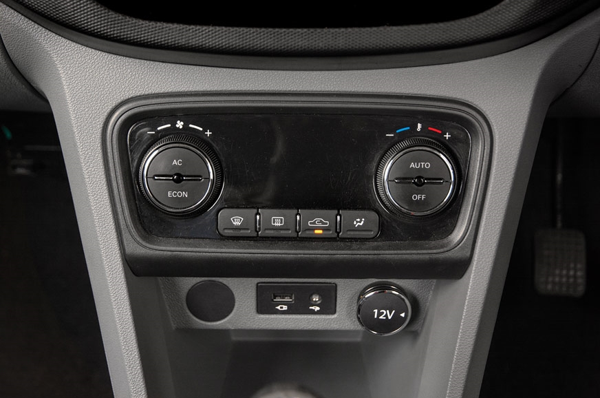 HVAC has no separate display, uses central infotainment d...