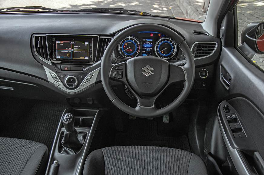 2017 maruti baleno rs road test price specifications interior equipment fuel efficiency. Black Bedroom Furniture Sets. Home Design Ideas