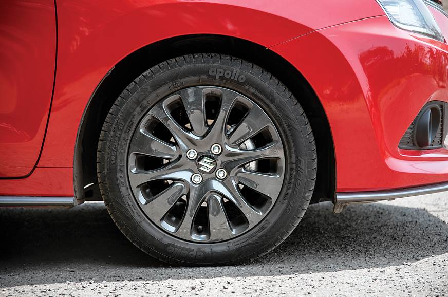 Blacked-out wheels are of same design and size as the reg...