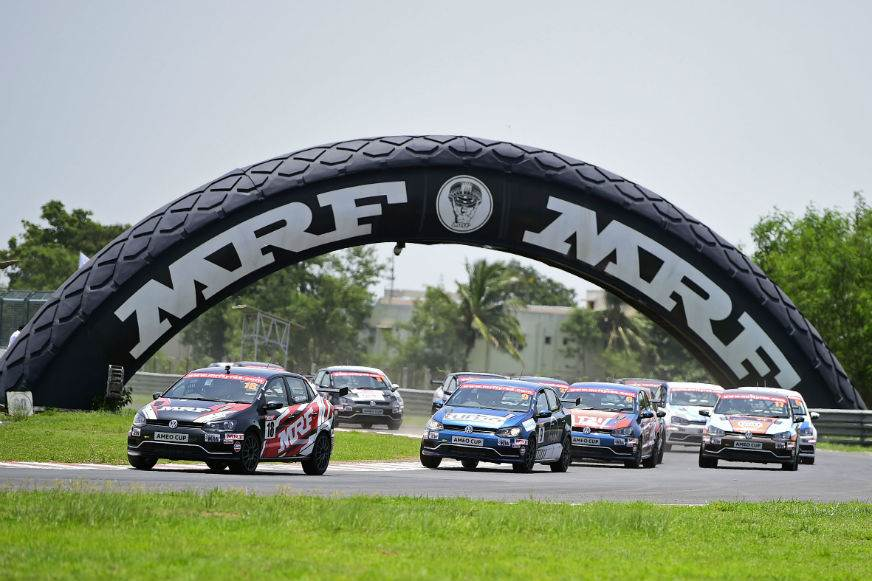 Devin Robertson tops VW Ameo Cup Round 2, Race 1