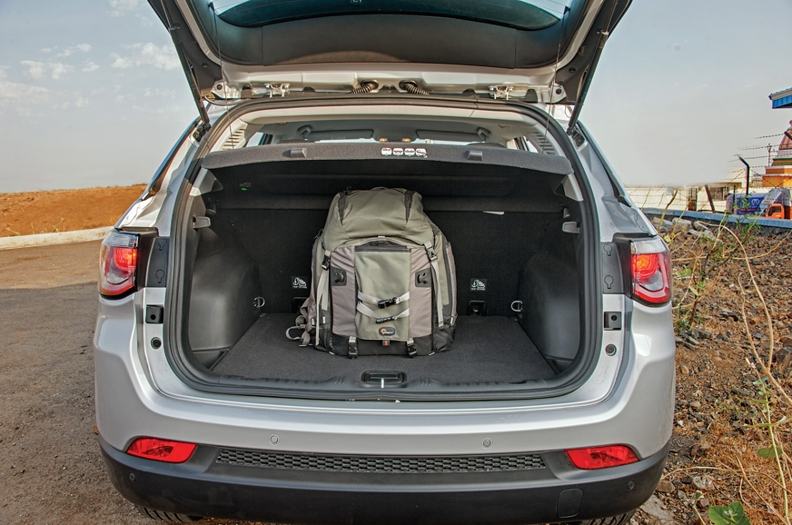 408-litre boot is wide and deep and you get a full-size s...