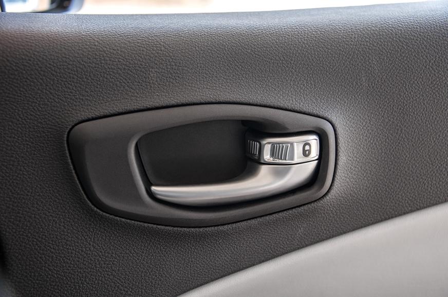 Door locks close with a solid 'clack'.