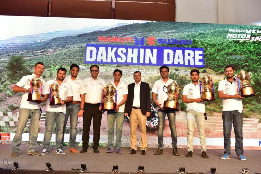 Suresh Rana, Ashwin Naik win 2017 Dakshin Dare