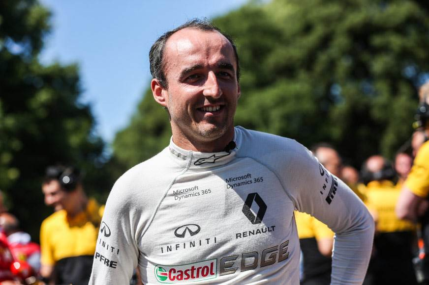 Kubica to participate in Hungary F1 test with Renault