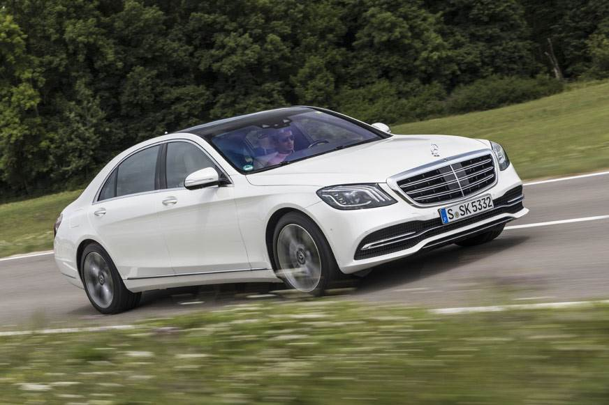 2017 Mercedes-Benz S-class facelift review, test drive