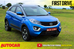 2017 Tata Nexon video review