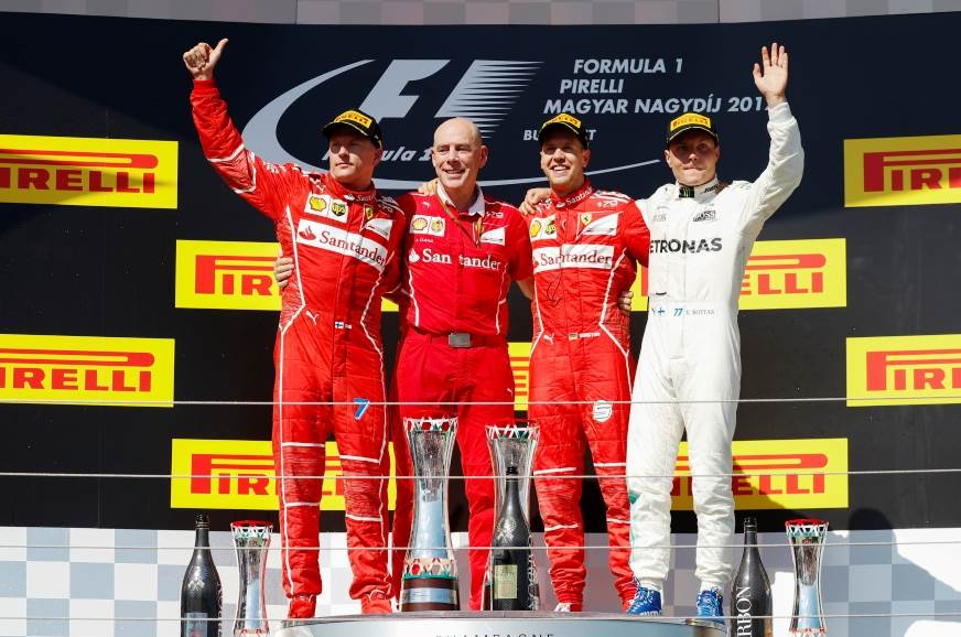 Vettel strengthens championship lead with Hungarian GP win