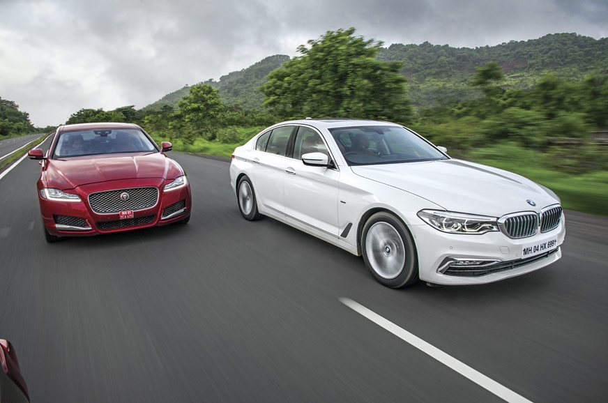 The Jag and BMW do a bit more to entertain the driver, an...