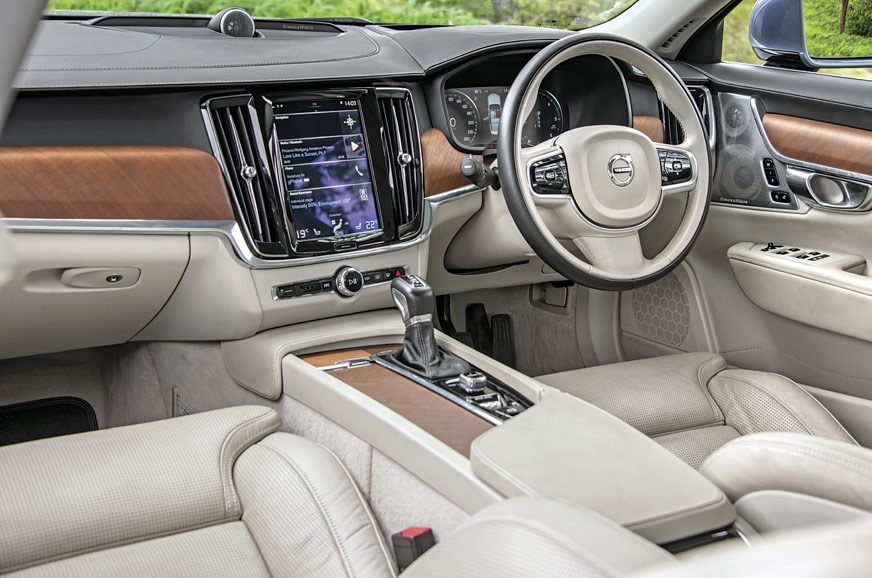 S90 rivals the Germans for quality and sense of occasion;...