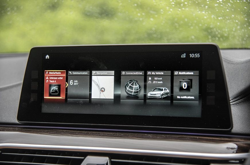 BMW iDrive still rules the roost; it now features touch a...