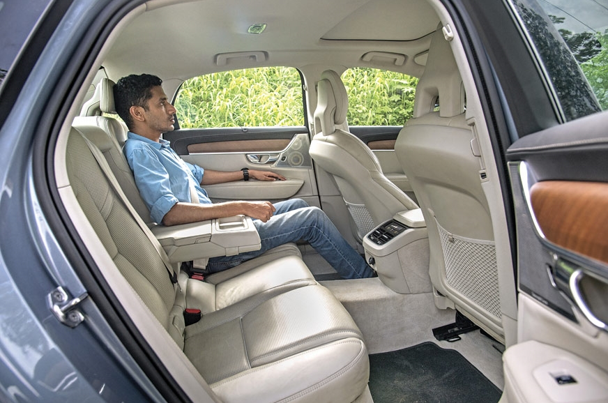 Volvo's seats a touch firm but offer almost perfect back ...