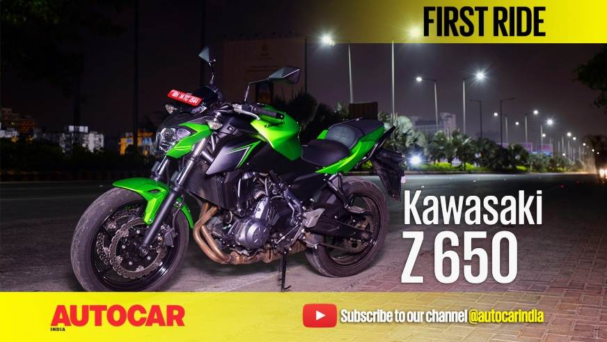 2017 Kawasaki Z650 video review