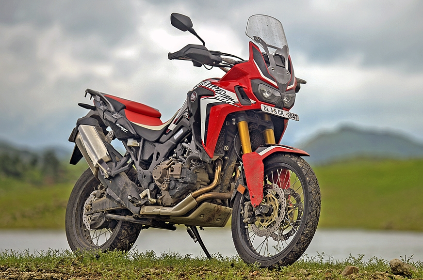 2017 Honda Africa Twin front three-fourth