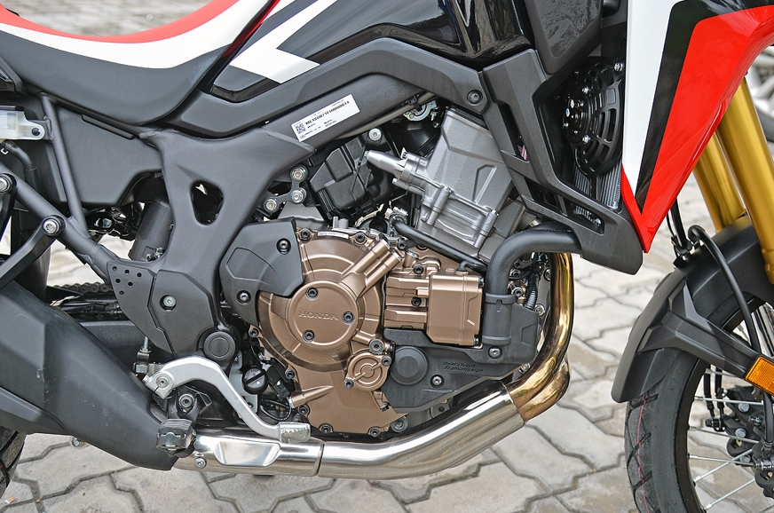 2017 Honda Africa Twin engine