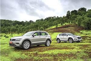 2017 Hyundai Tucson vs Volkswagen Tiguan comparison