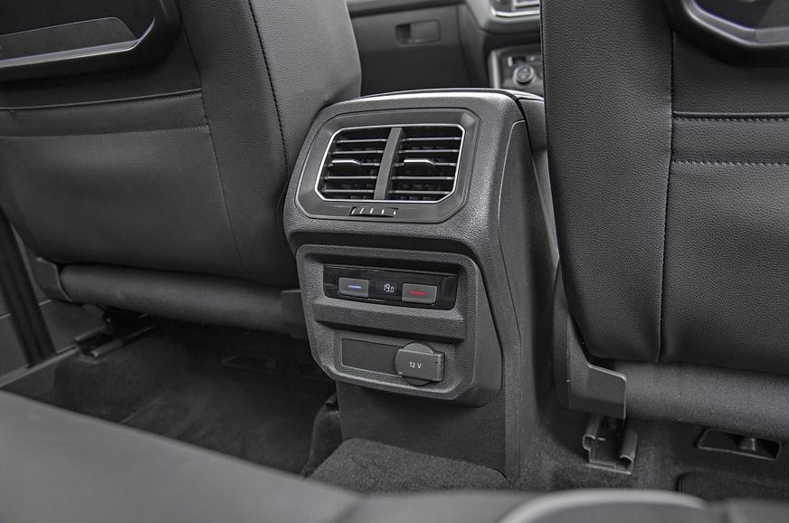 Tiguan gets three-zone climate control and a memory funct...