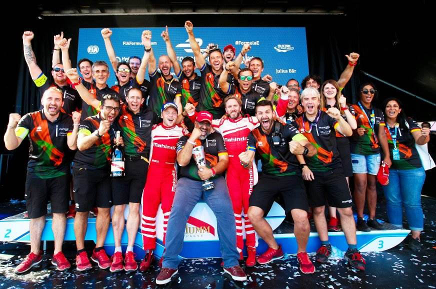 Mahindra secures third in 2016-17 Formula E championship