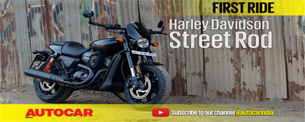 2017 Harley-Davidson Street Rod 750 video review