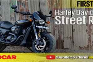 2017 Harley-Davidson Street Rod 750 video review