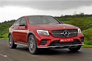 2017 Mercedes-AMG GLC 43 Coupe review, test drive